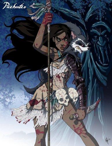 Twisted Pocahontas