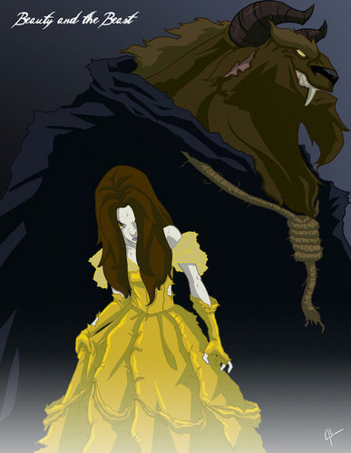 Belle wallpaper possibly containing anime called Twisted Princess: Belle