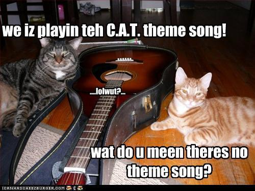 Wat do u meen there is no theme song?