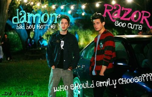 Who will Emily choose? (hopefully damon!!) - emily-and-damon Fan Art