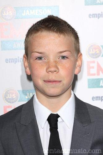 Will Poulter playing Eustace Clarence Scrubb