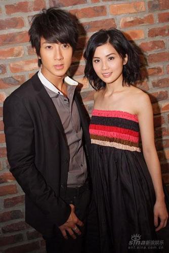 Wu Chun and Charlene Choi