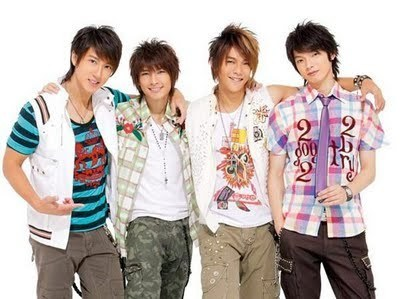 Wu Chun and his band Fahrenheit - wu-chun-wu-zun Photo