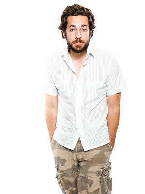 Zachary Levi's 2009 Comic Con Portrait