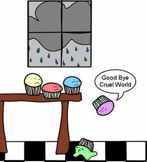 suicidal bolo de copo