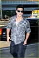 taylor lautner leaves lax - twilight-series photo