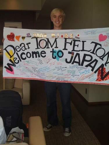 tom felton in japan