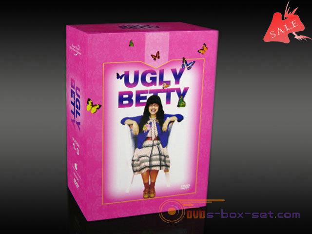 ugly betty seasons 1-3 dvd box set