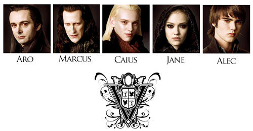 la saga Twilight fond d'écran called volturi
