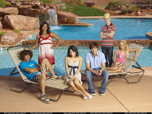 High School Musical 2 wallpaper probably with a water and a bather entitled yaya
