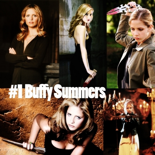 #1 Buffy Summers (Female-Asskickers)