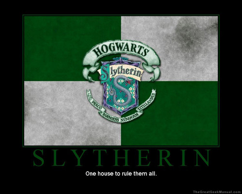 *slytherin*