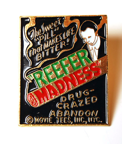 1936 Reefer Madness Lapel Pin
