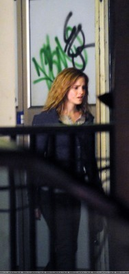 20.4.09 Filming Deathly Hallows in London