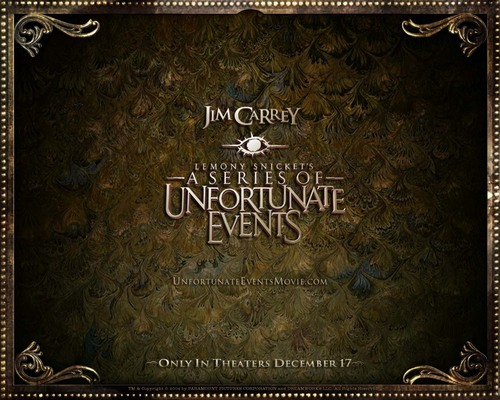 A Series of Unfortunate Events Обои containing a sign called A Series of Unfortunate Обои