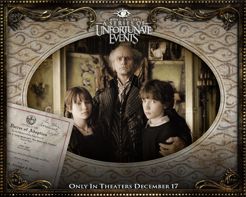 A Series of Unfortunate پیپر وال
