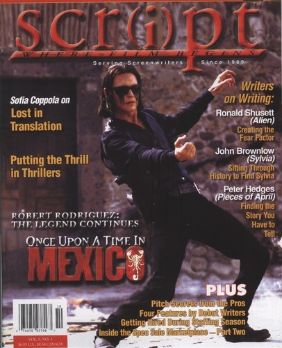 Agent Sands - Script magazine