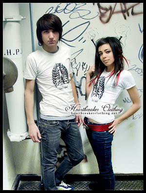 Alex and Maria Being Ya Knw just awsome heartbreaker kid clothing