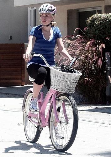 Anna riding 8/5/09