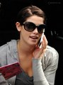 Ashley Greene- at the airport heading to film eclipse - twilight-series photo