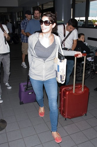 Ashley Heading out to Vancouver