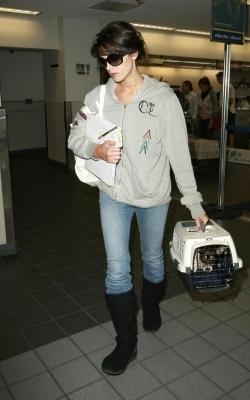 Ashley Leaving LAX - August 10