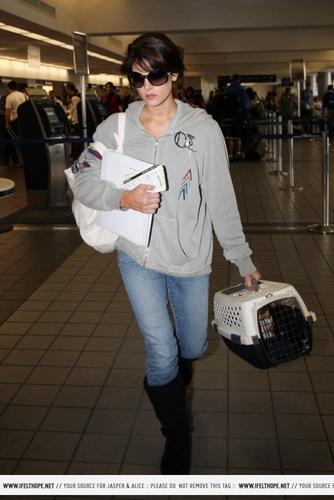 Ashley Leaving LAX