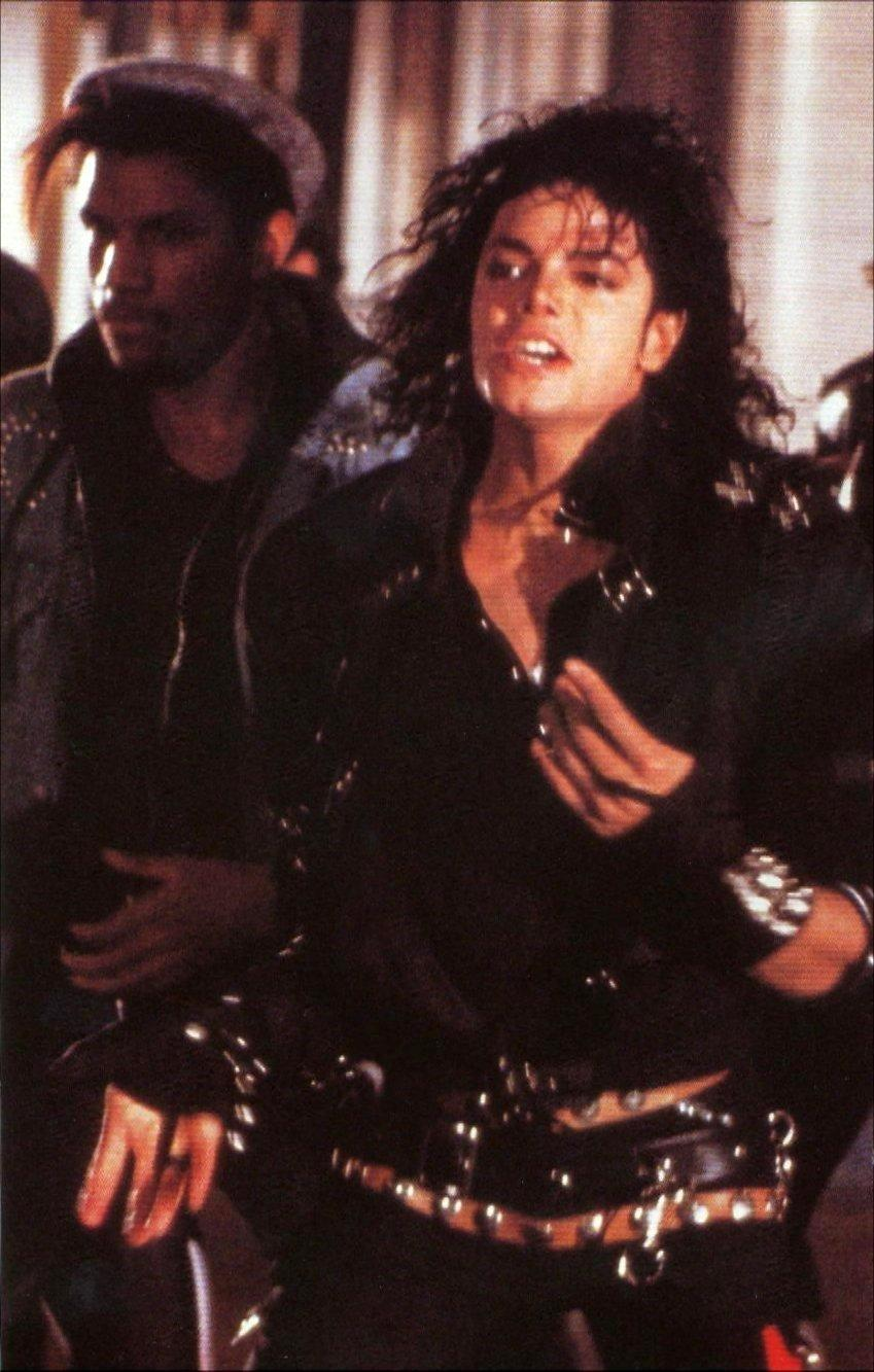 Michael Jackson Images Bad Mj Behind The Scenes Hd Wallpaper And