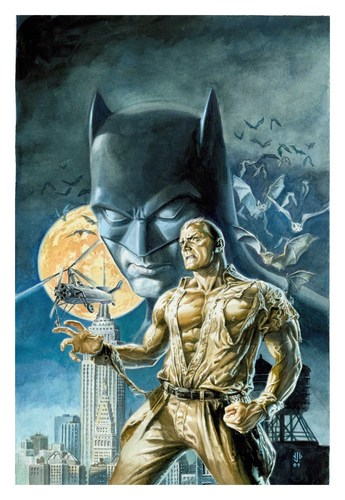 Batman & Doc Savage