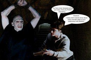 Bellatrix and Voldemort