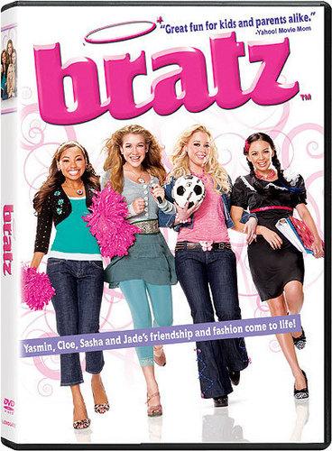 Bratz the movie dvd case