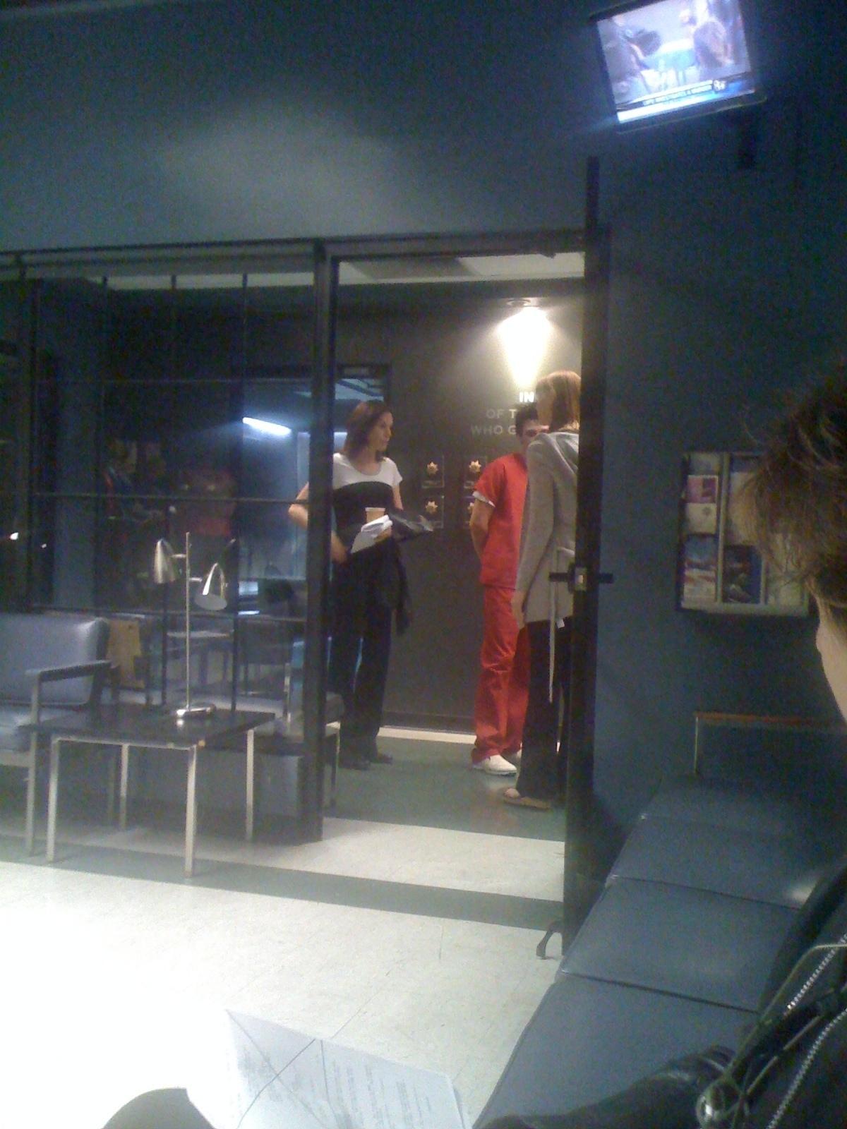 CSI: Las Vegas - Episode 10.02 - Ghost town - Set تصاویر