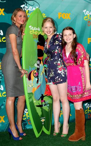 Cameron Diaz at the Teen Choice Awards