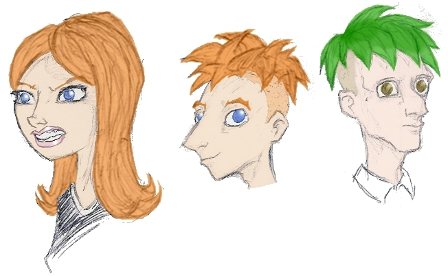 Candace, Phineas & Ferb sketches