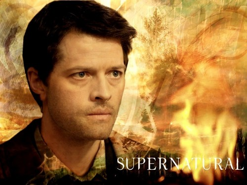Castiel wallpaper containing a portrait entitled Castiel