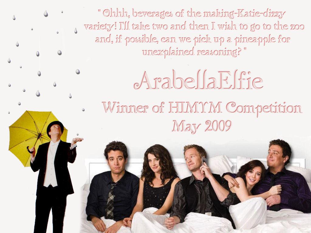 Arabellaelfie Certificate How I Met Your Mother Wallpaper