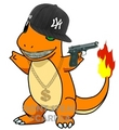 Charmander's ghetto-fabulous!! - charizard photo