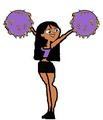 Cheerleader Rikki - total-drama-island fan art