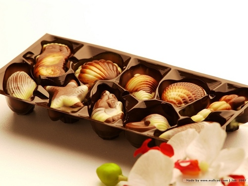Chocolate wallpaper probably with a bonbon titled Chocolate<3