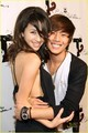 Christian Serratos and Justin Chon - at totally texty teen choice awards 09 - twilight-series photo