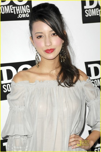 Christian Serratos- at the power of the youth party