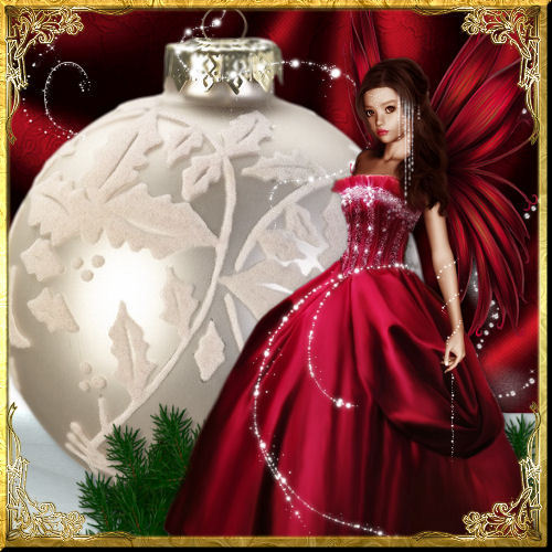 Christmas fairy christmas fan art 7588150 fanpop for Pretty christmas pics