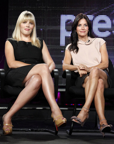 Cougar Town Cast at ABC&#39;s TCA .	 - cougar-town Photo