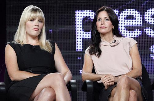 Cougar Town Cast at ABC's TCA .
