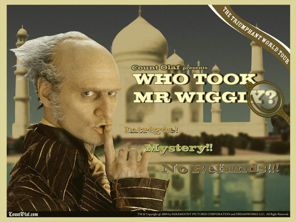 Count Olaf 바탕화면