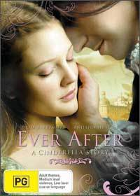 Wallpaper images in the <b>Ever After</b> club tagged: dougray scott drew barrymore <b>...</b> - DVD-Cover-ever-after-7508803-200-280