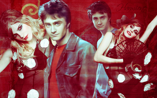 Daniel Radcliffe&Emma Watson achtergrond called Dan and Emma