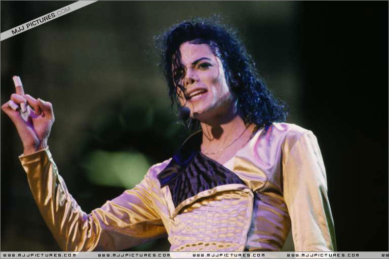Dangerous World Tour > On Stage