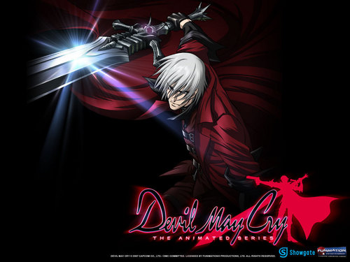 Devil May Cry - animê wallpaper called Dante Attacking