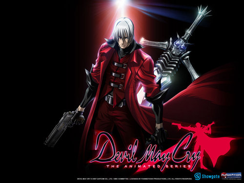 Devil May Cry - animê wallpaper possibly with animê titled Dante with Weapons